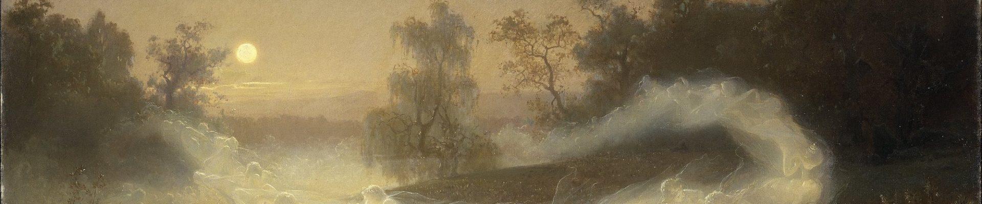 August Malmström, Dancing Faeries, 1866.