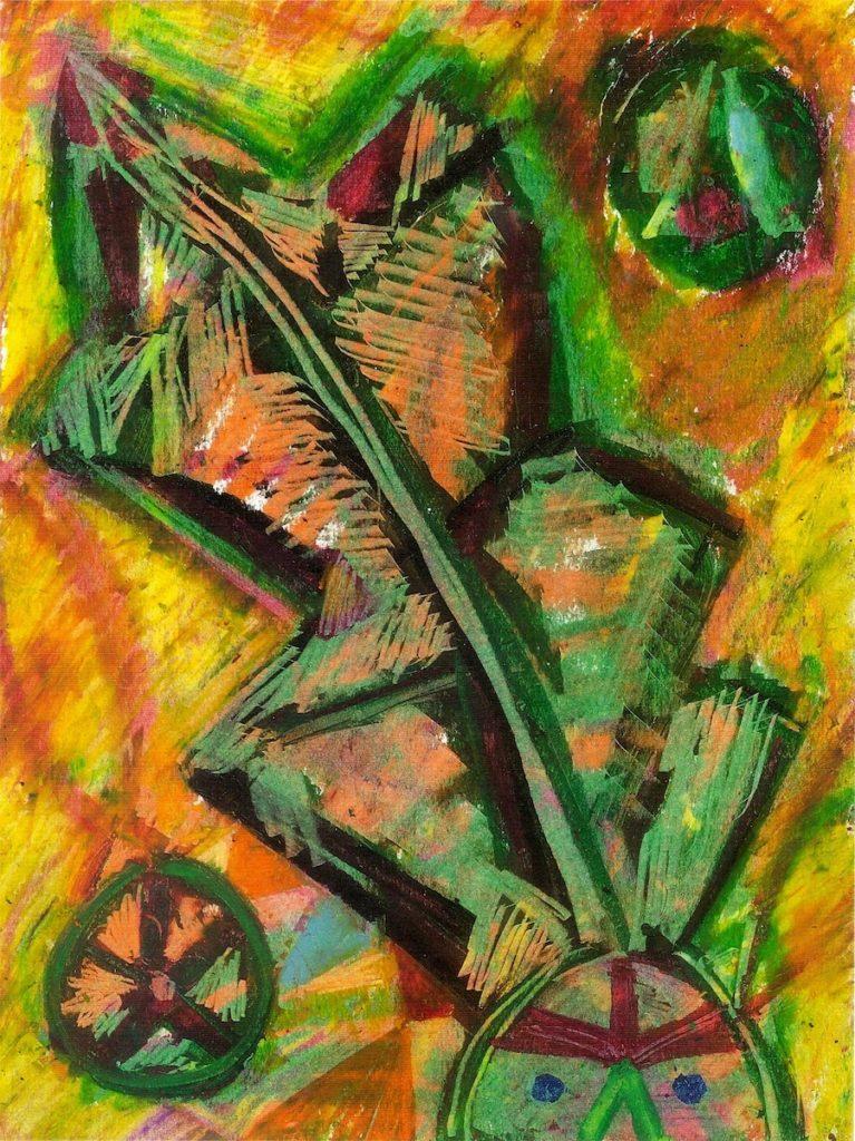 Brian George, Autumnal Leaf-Head