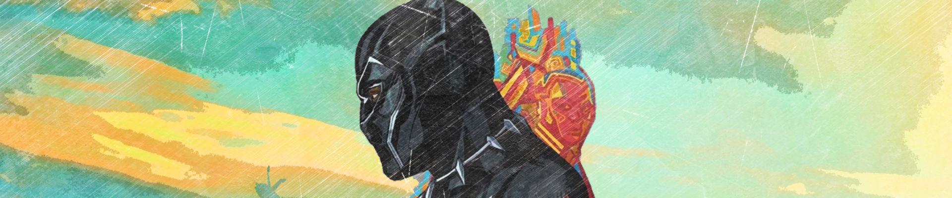 Black Panther promo art, by markfresch, via hdqwalls.com