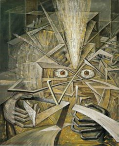 Victor Brauner, Disintegration of Subjectivity, 1951