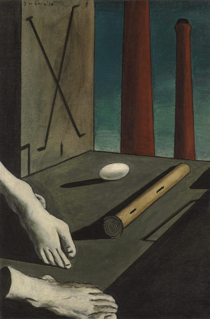 Giorgio de Chirico, Metaphysical Composition, 1914